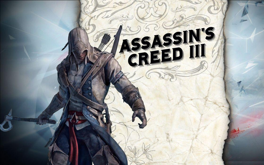 Video games tomahawk assassins creed 3 wallpaper
