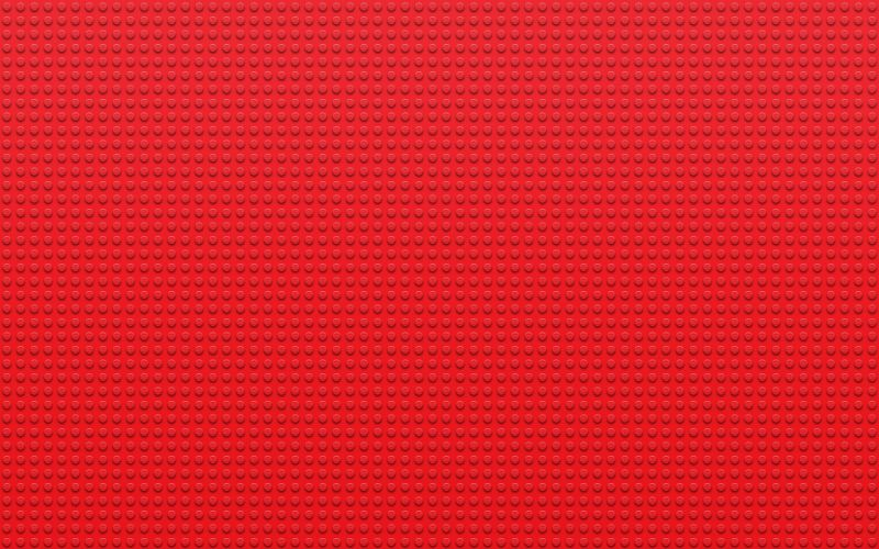 Lego red textures dots wallpaper
