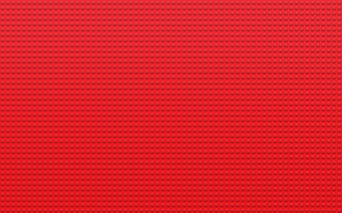 Lego red textures dots wallpaper