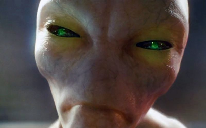 Movies green eyes indiana jones and the kingdom of the crystal skull creatures alien faces wallpaper