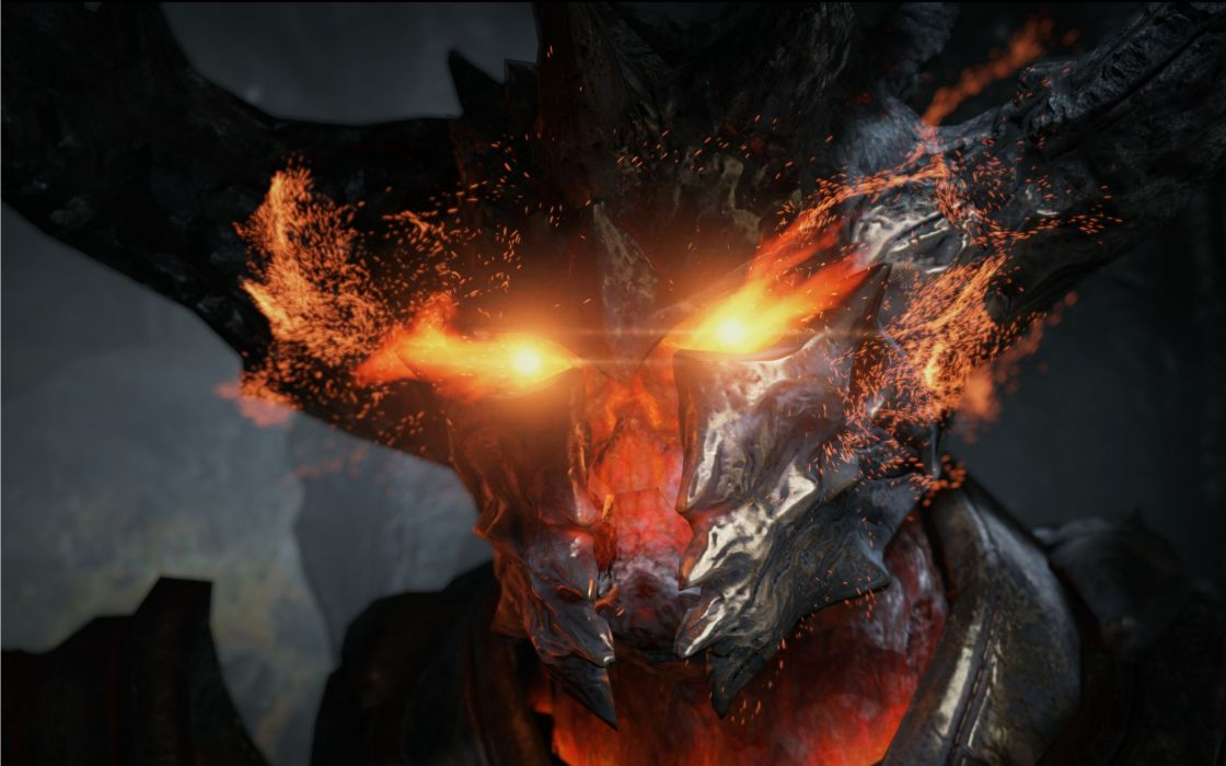 Fire evil devil deamons unreal engine wallpaper