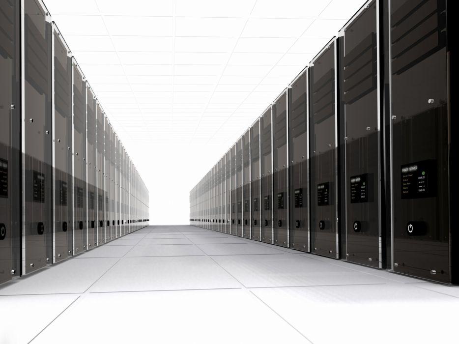 Computers server rooms wallpaper