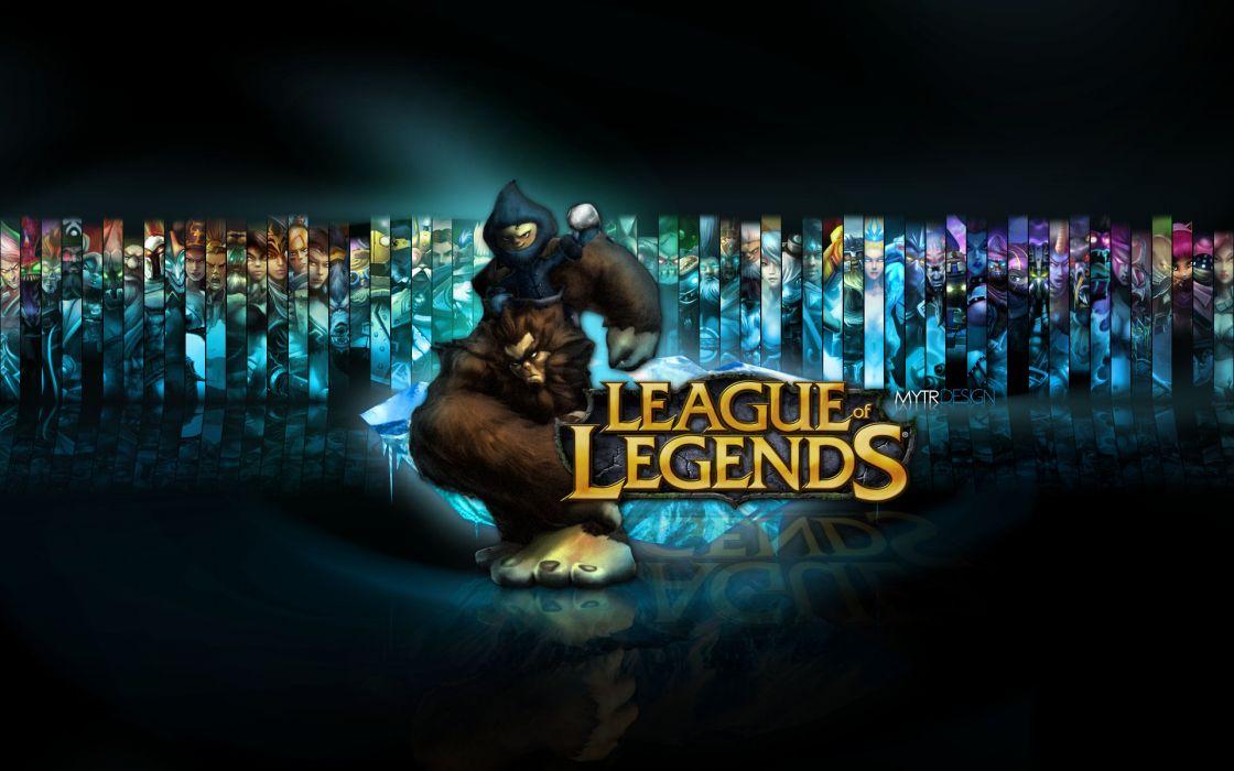 League of legends nunu wallpaper