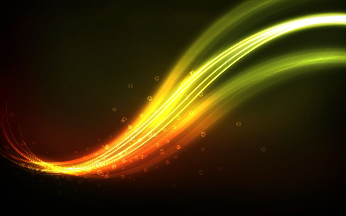 Abstract multicolor lines wallpaper