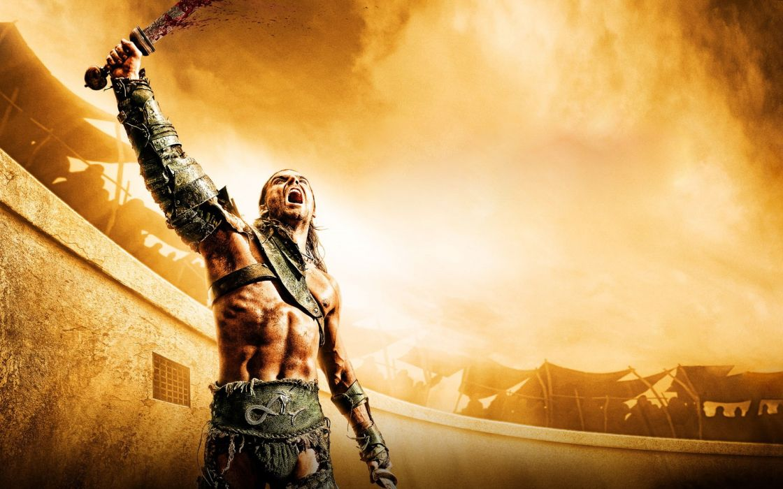Gladiator tv series spartacus gods of the arena swords naher23nada wallpaper