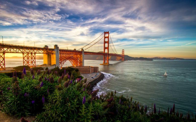 Landscapes bridges golden gate bridge wallpaper