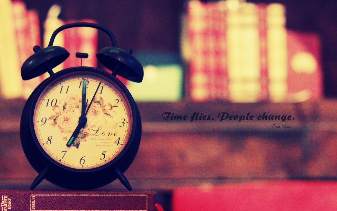 Clocks wallpaper