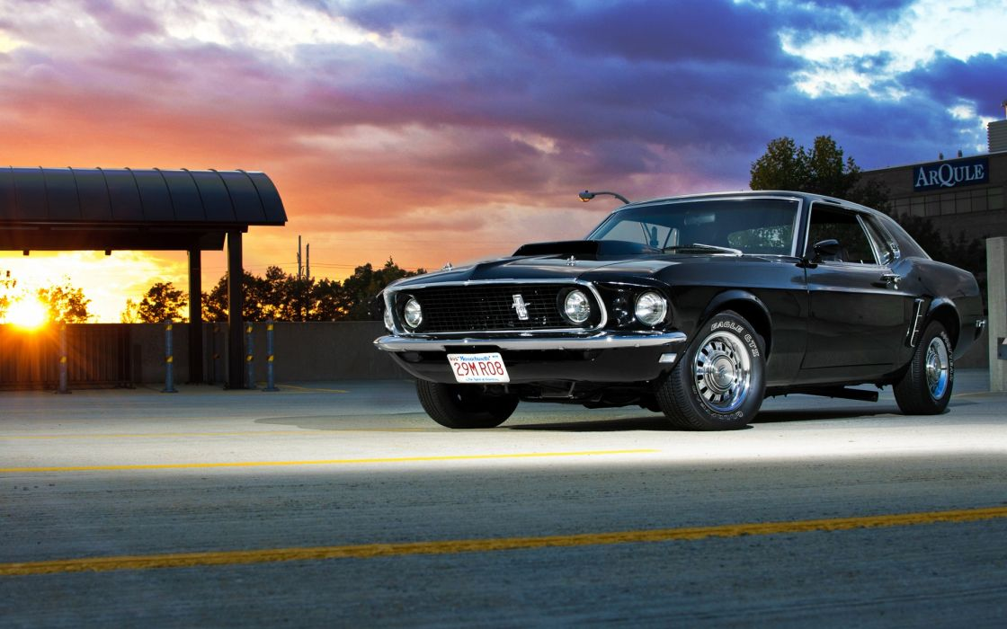 Cars muscle cars 1969 vehicles ford mustang wallpaper
