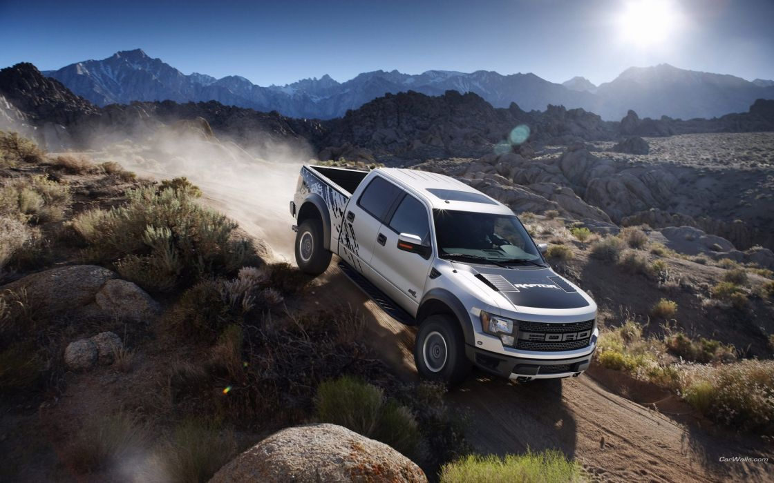 150 Svt raptor pickup trucks wallpaper