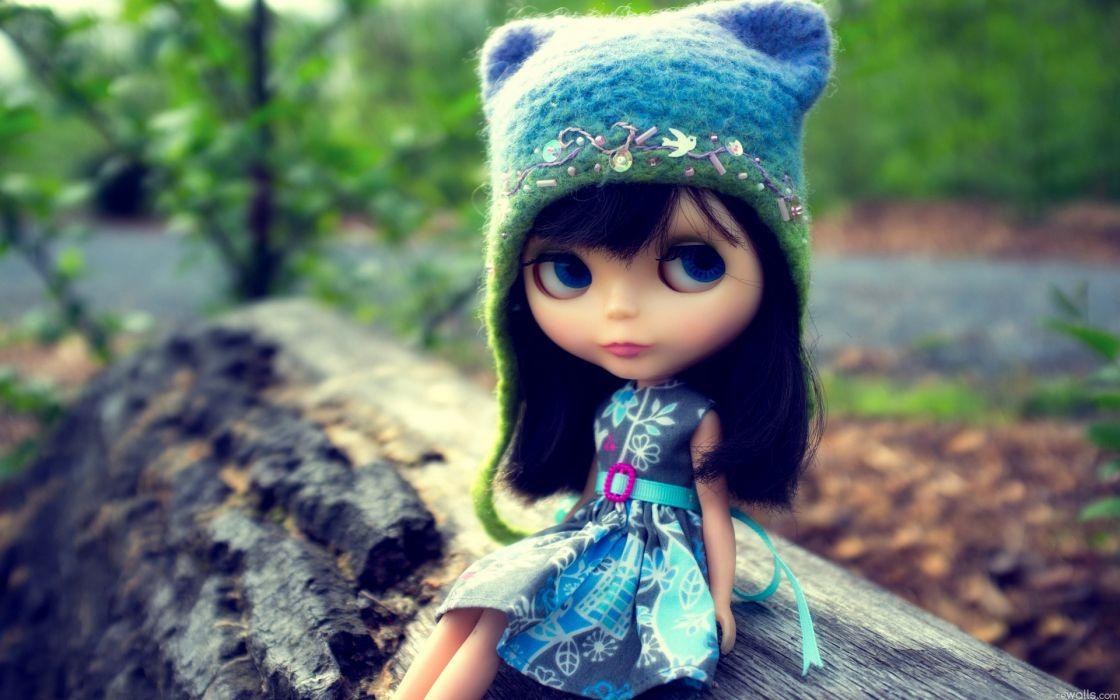 Wool depth of field hats doll wallpaper