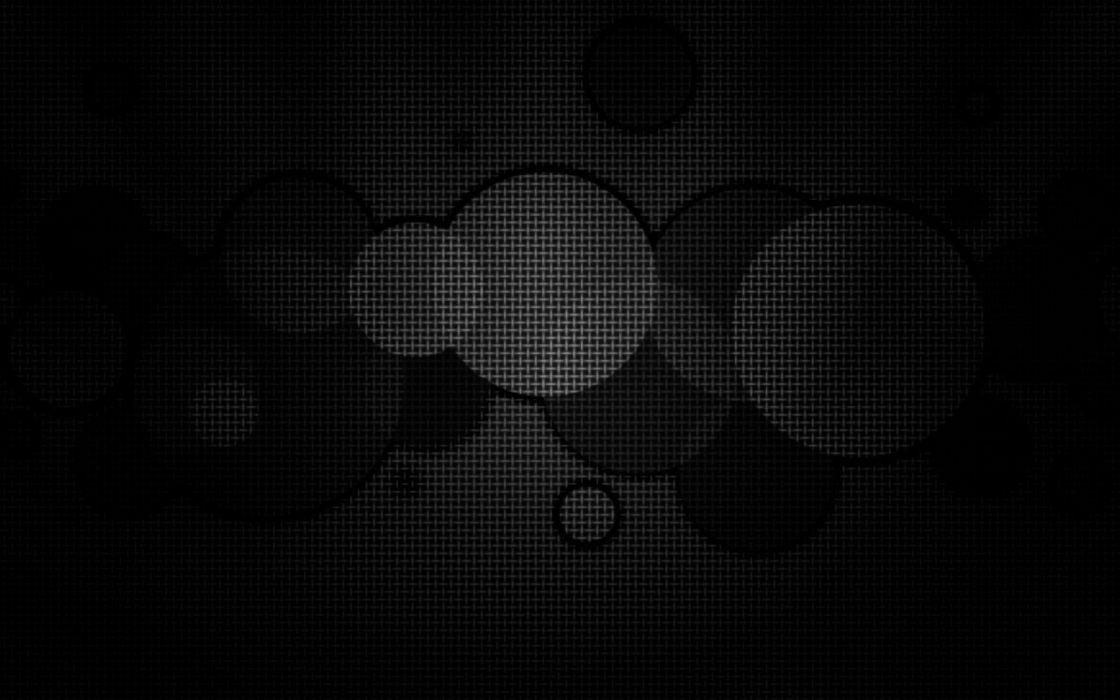 Abstract black circles geometry wallpaper