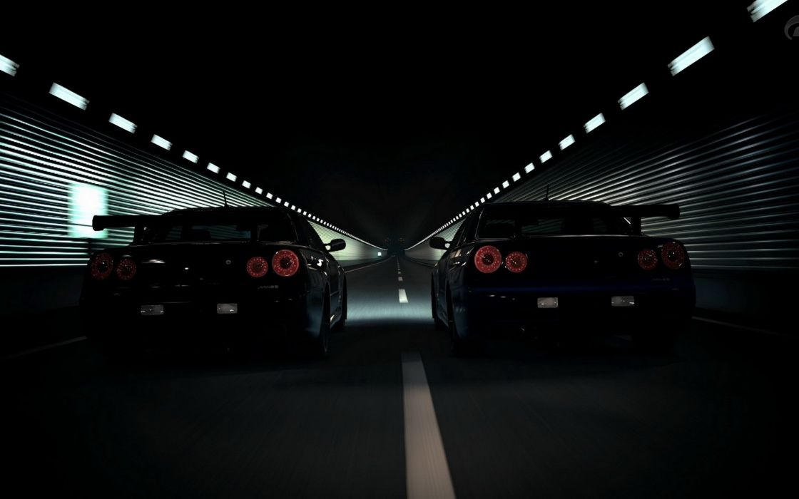 Video games cars tunnel games wallpaper