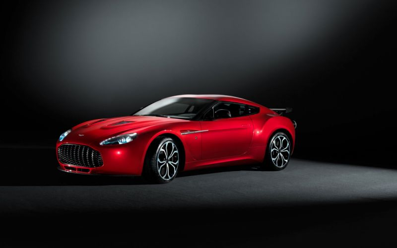 Red cars aston martin vehicles sport cars aston martin v12 zagato wallpaper