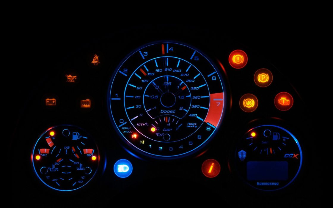 Cars vehicles dashboard koenigsegg ccx black background wallpaper