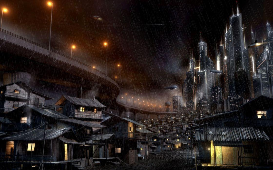 Fantasy cityscapes fantasy art wallpaper