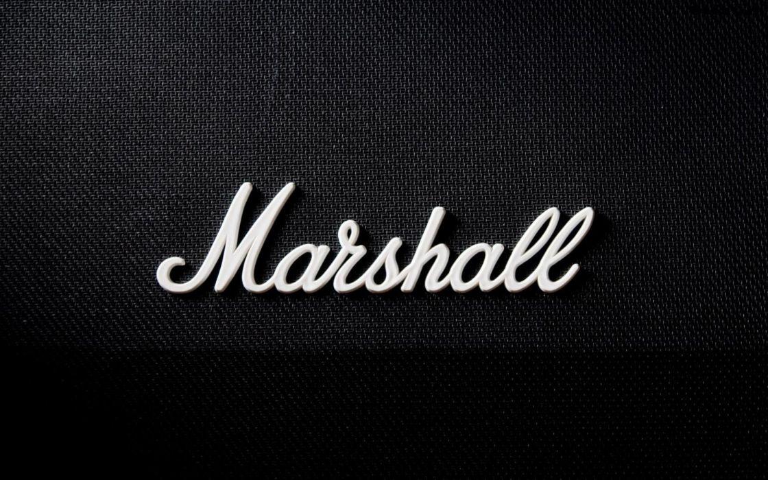 Music marshall logos amplifiers wallpaper