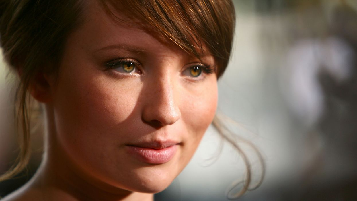 Women people emily browning faces wallpaper