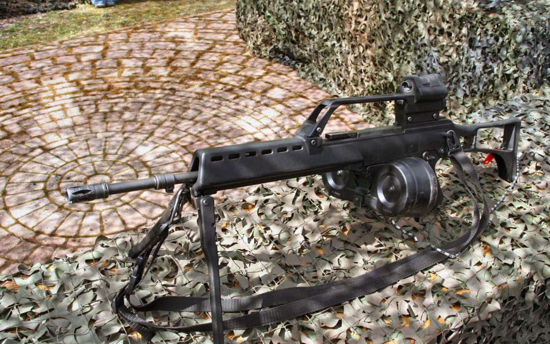 Guns germany weapons hk mg36 wallpaper