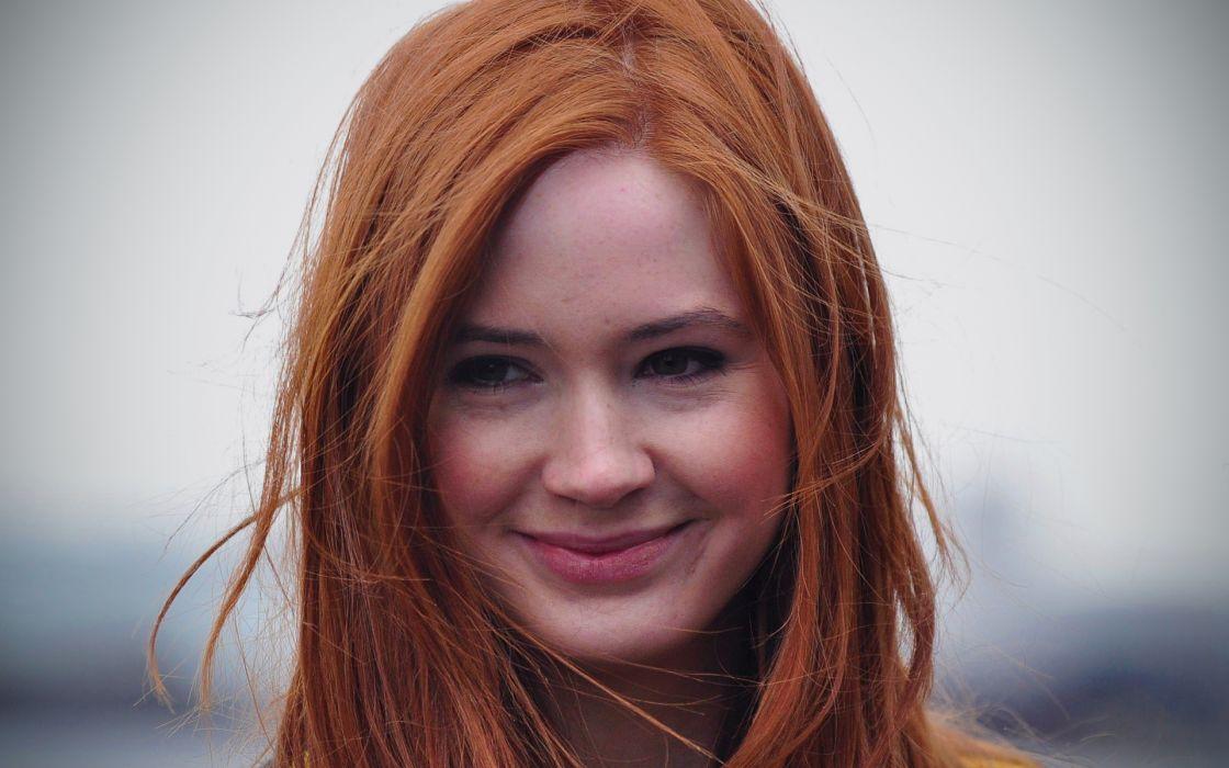 Women redheads karen gillan wallpaper