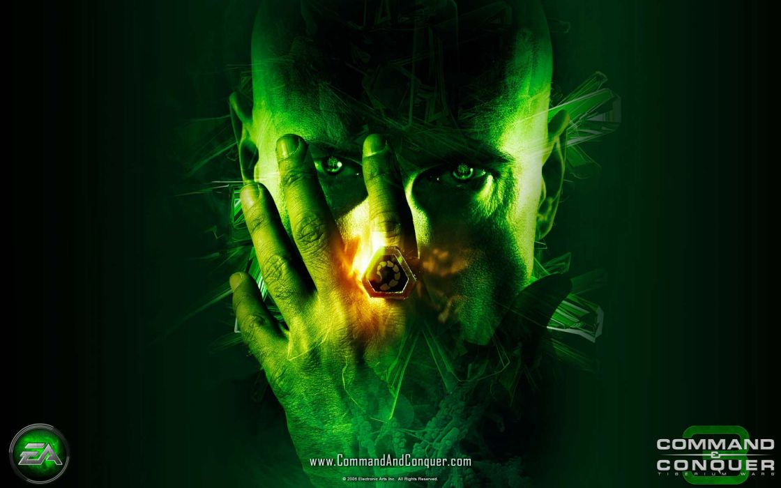 Green video games command and conquer joseph d wallpaper