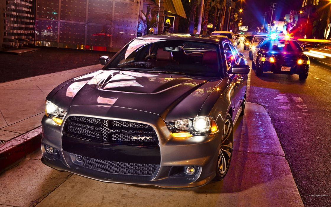 Cars police urban dodge charger srt wallpaper