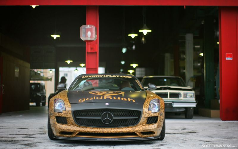 Benz sls amg gullwing wallpaper