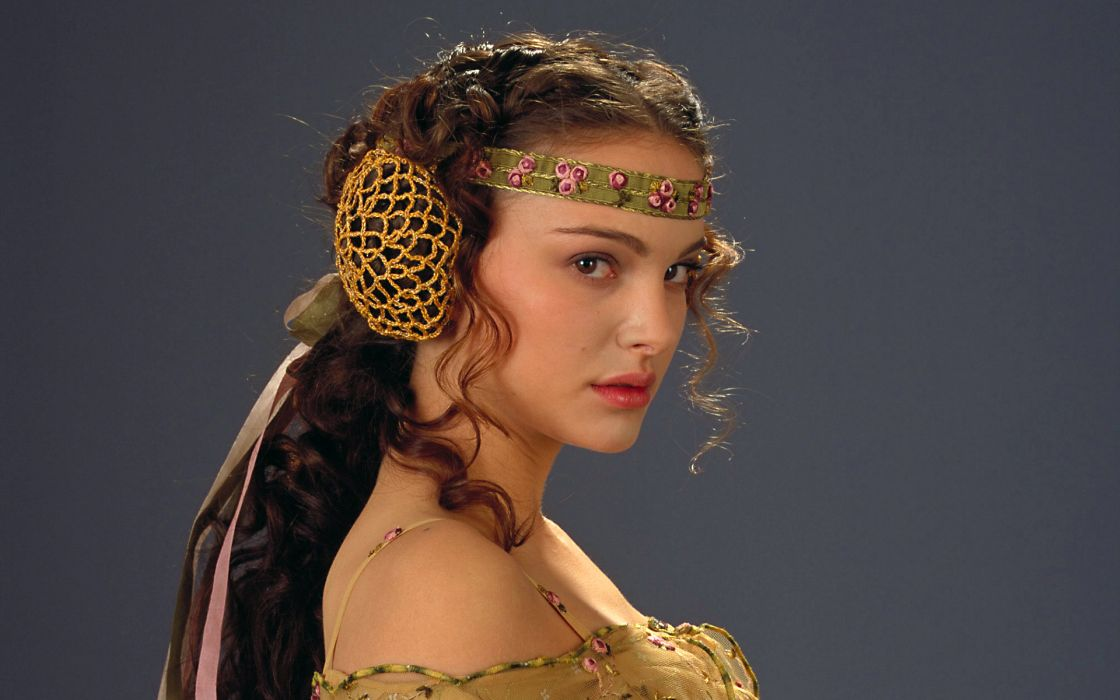 Women star wars natalie portman wallpaper