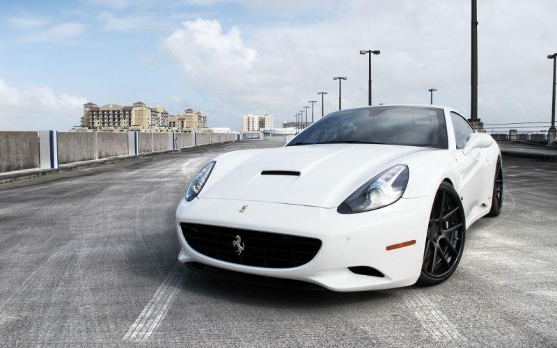 White cars ferrari vehicles ferrari california wallpaper