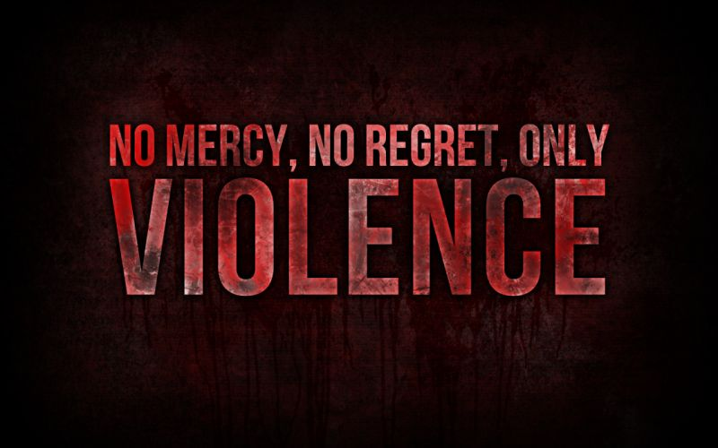 Red text blood quotes typography wallpaper