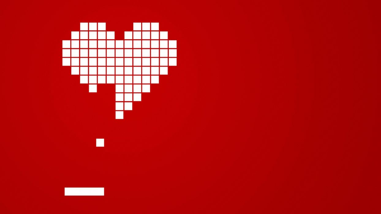 Heart gaming wallpaper