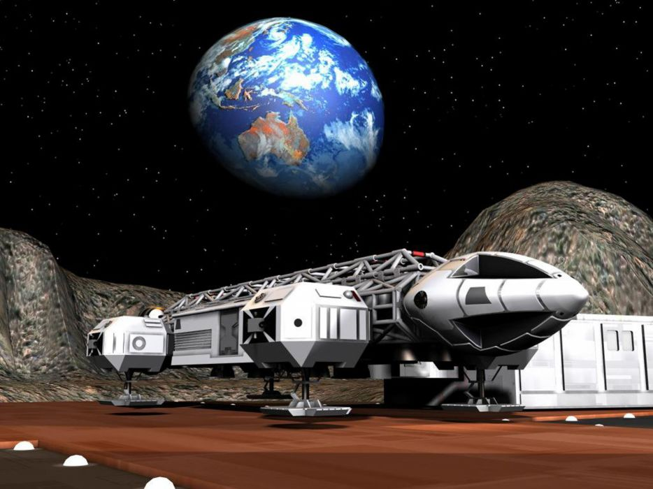 Outer space fiction stars earth eagles spaceships vehicles space 1999 wallpaper