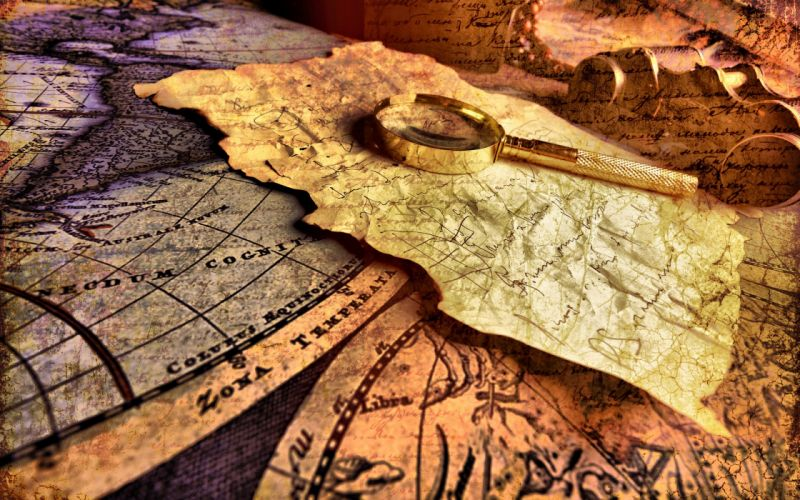Maps artwork world map loupe wallpaper