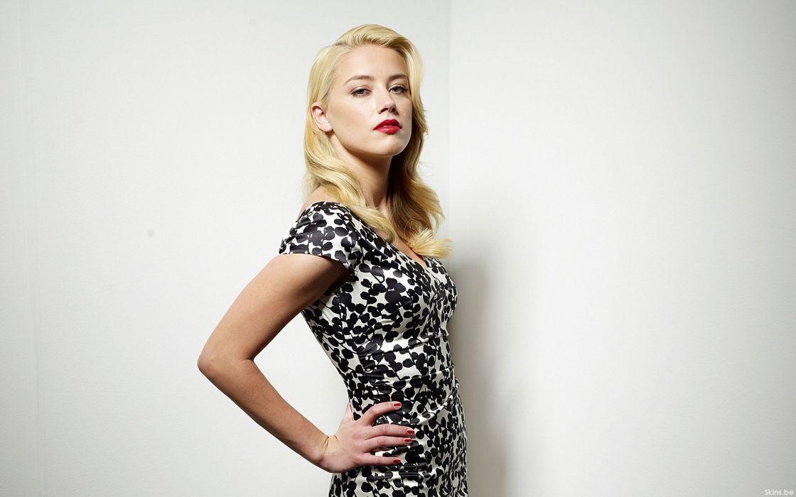 Women actress amber heard wallpaper
