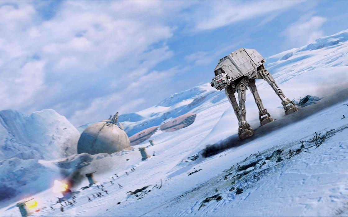 At the empire strikes back wallpaper