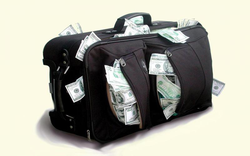 Money bags wallpaper