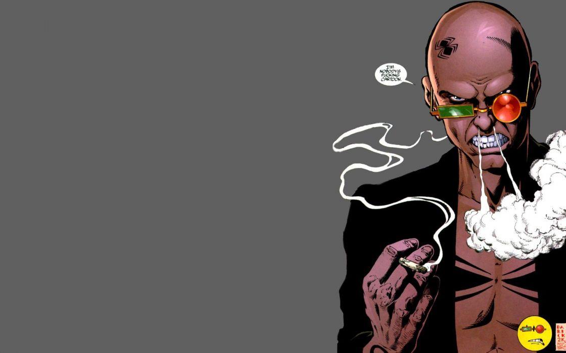 Comics transmetropolitan spider jerusalem vertigo comics wallpaper