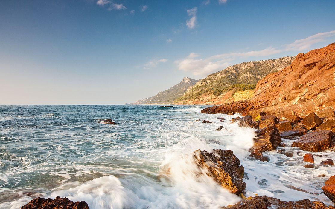 Water nature sea wallpaper