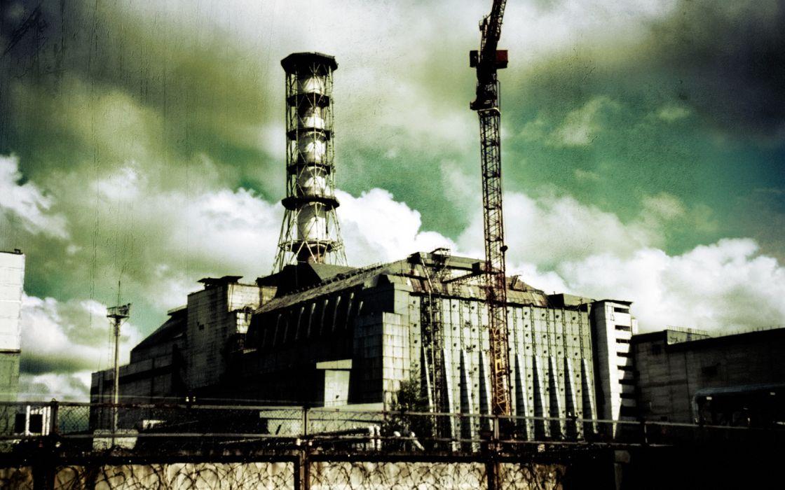 Pripyat chernobyl nuclear power plants wallpaper