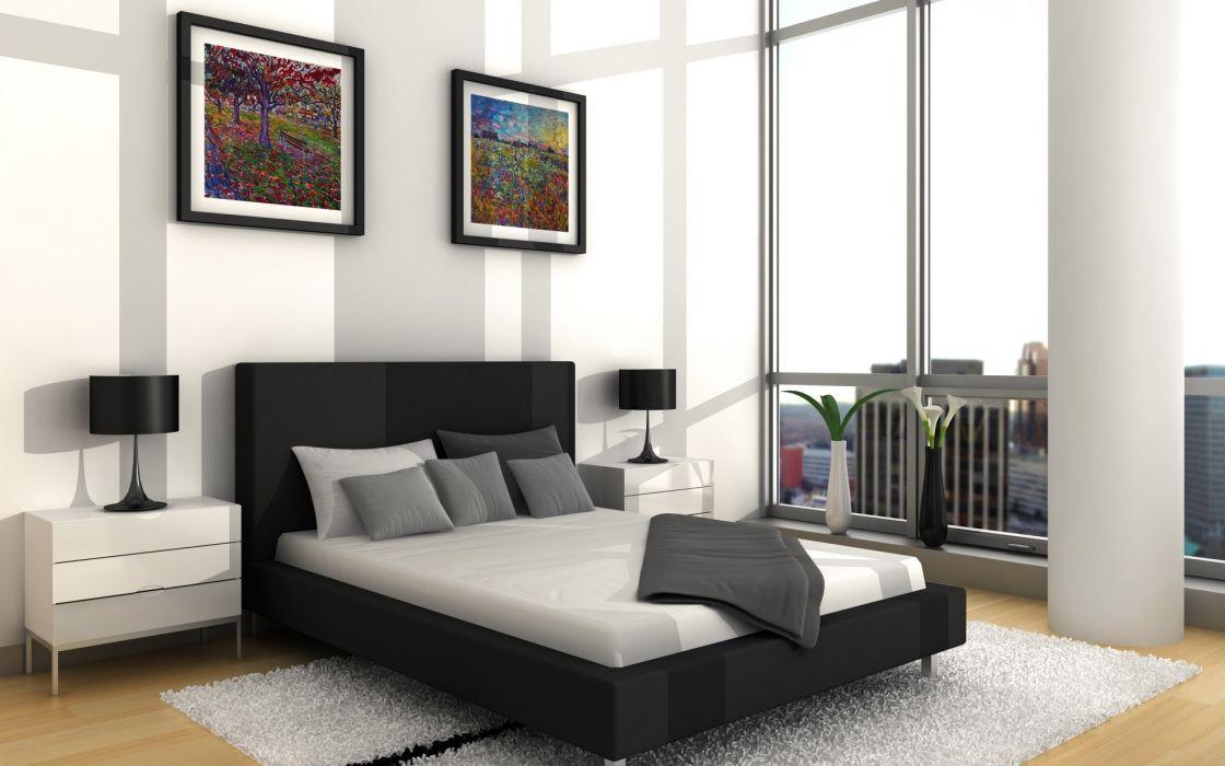 Interior bedroom ideas interior designs wallpaper