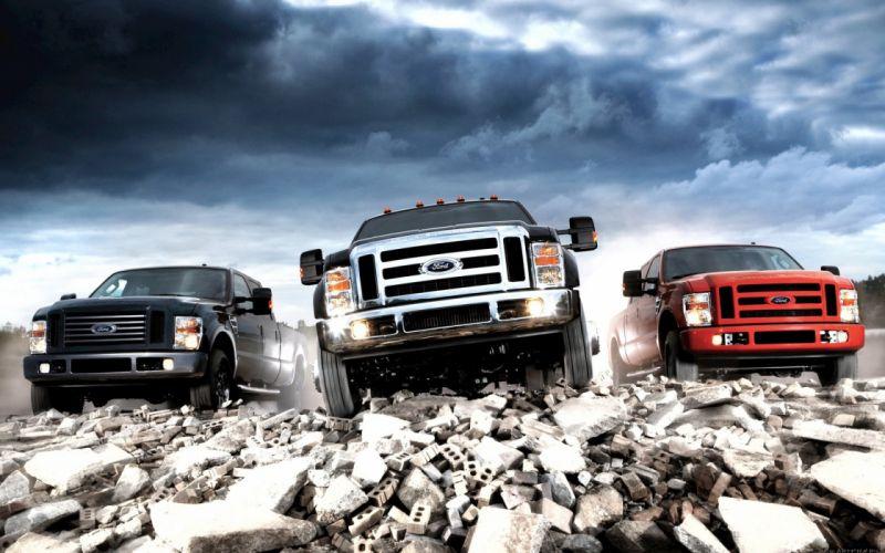 Ford trucks vehicles wallpaper
