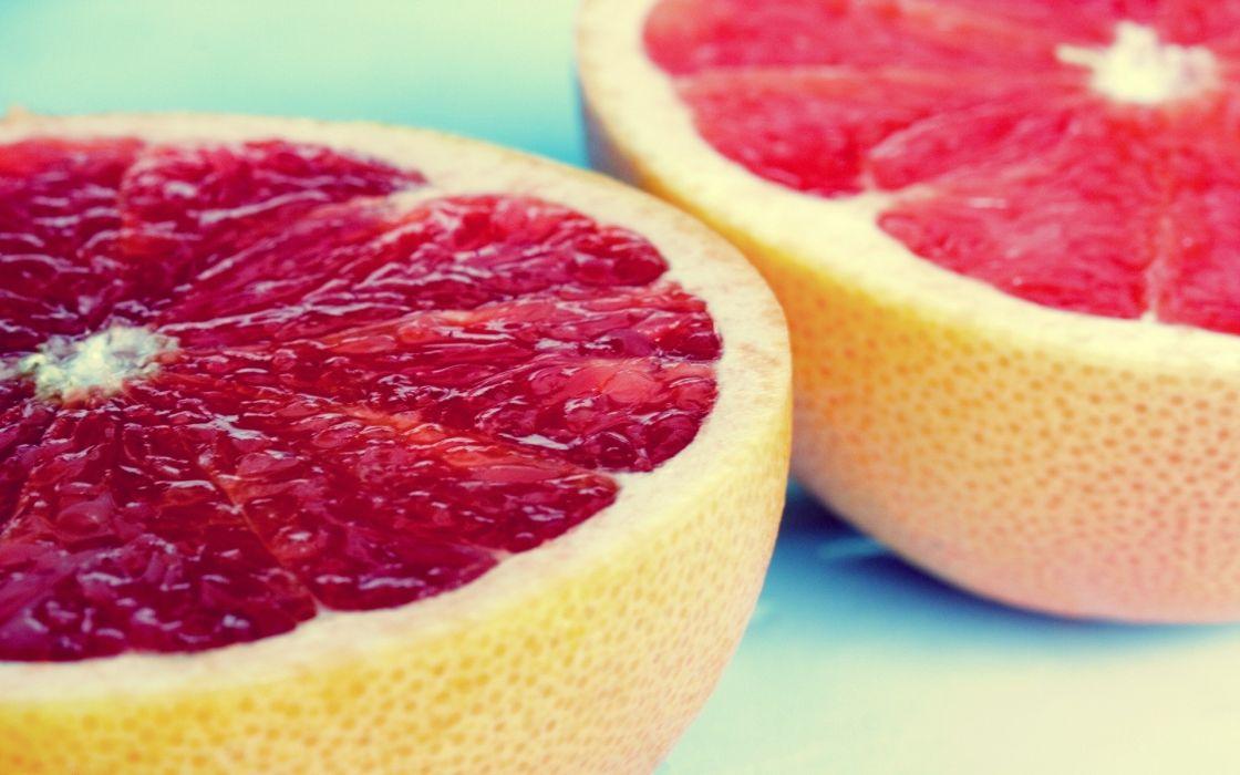 Fruits grapefruits wallpaper