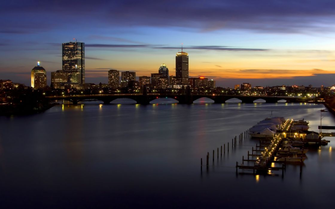 Cityscapes skyline hdr photography wallpaper