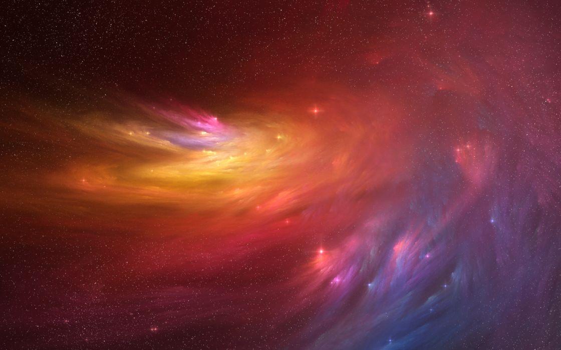 Outer space nebulae casperium wallpaper
