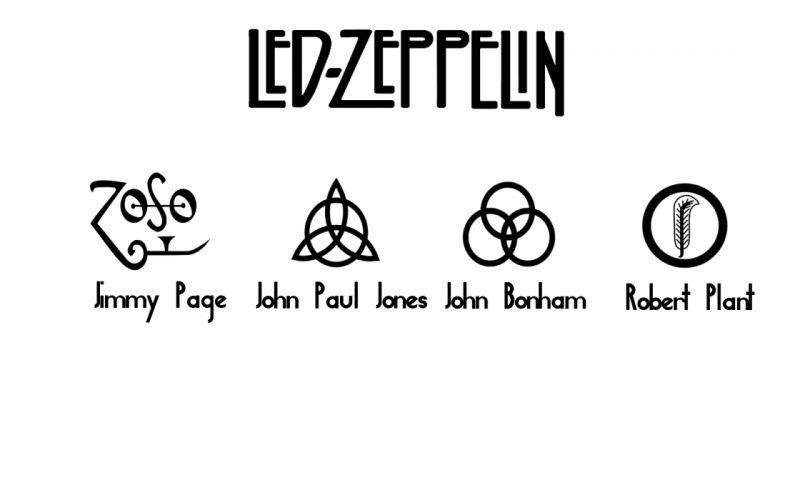 Led zeppelin music bands wallpaper