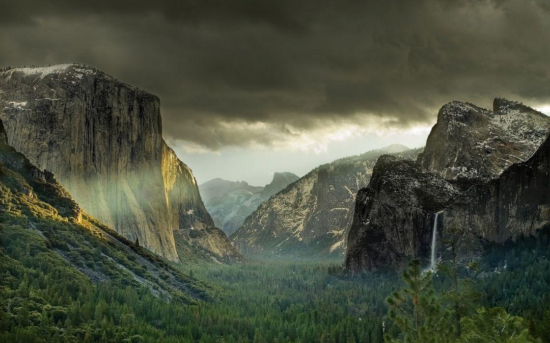 Landscapes yosemite wallpaper