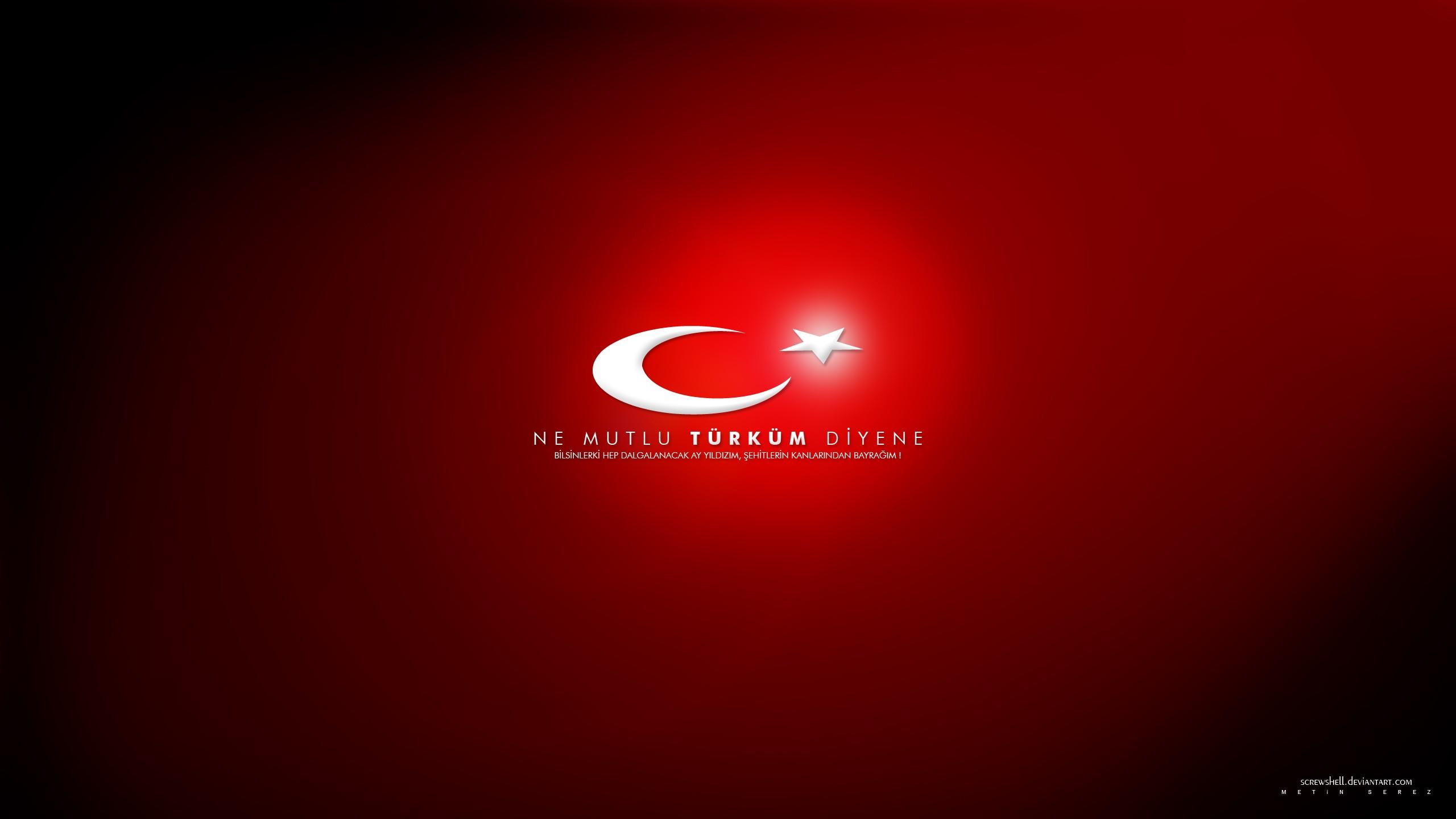 Flags Turkey Ataturk Turkish Moon And Star Wallpaper