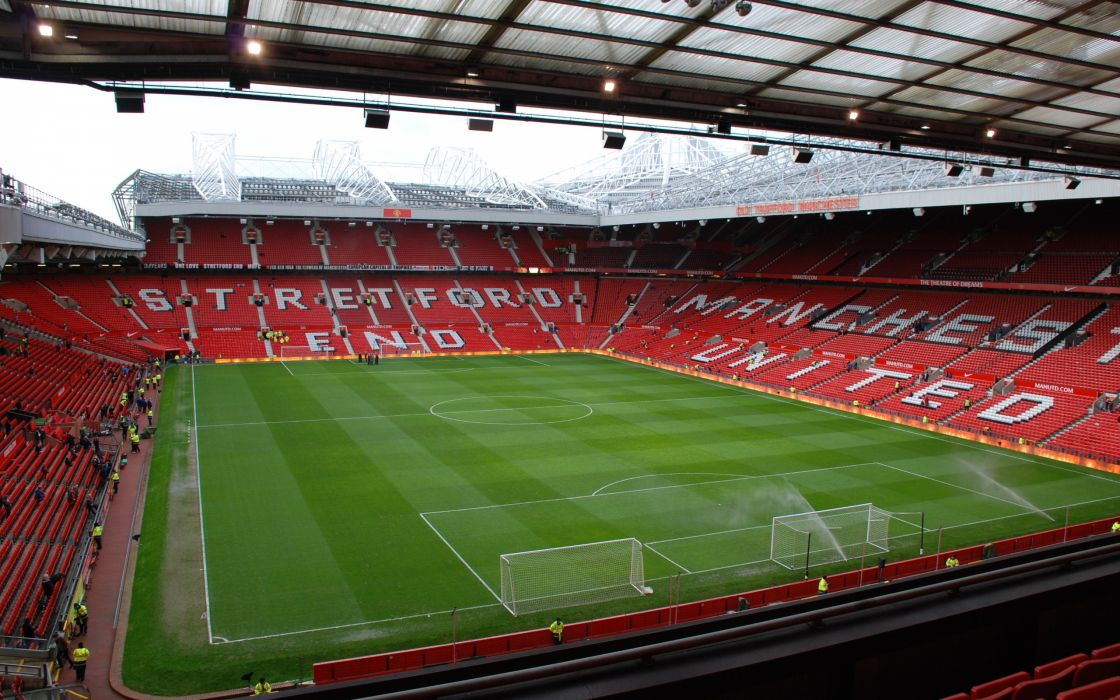Fields Stadium Manchester United Fc Manchester United Old