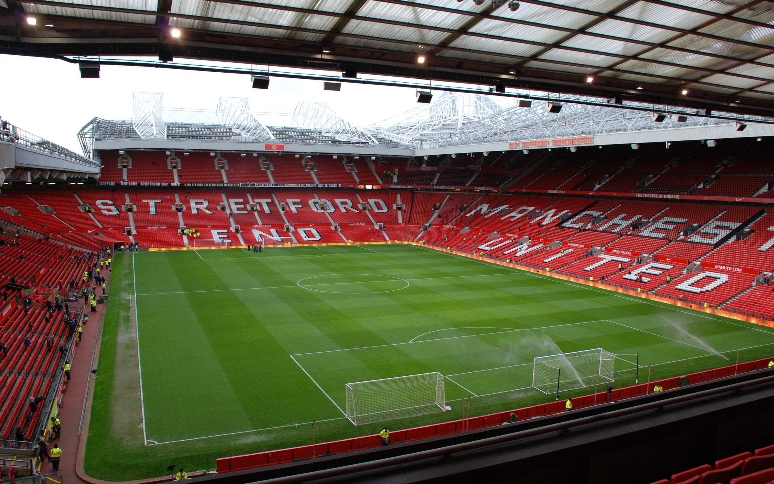 Fields Stadium Manchester United Fc Manchester United Old Trafford