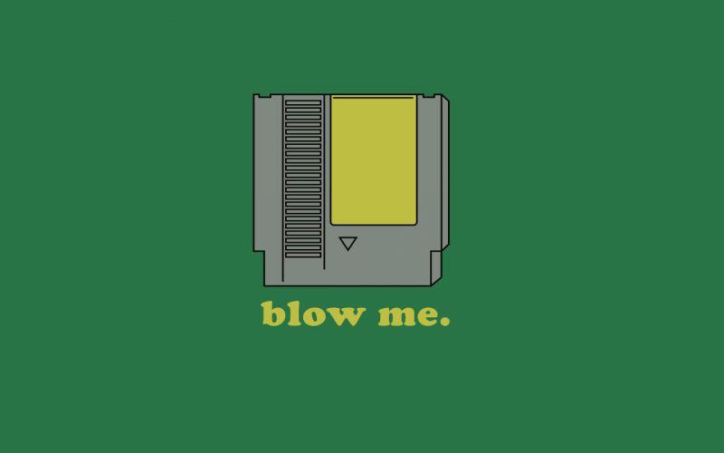 Nintendo blow me wallpaper
