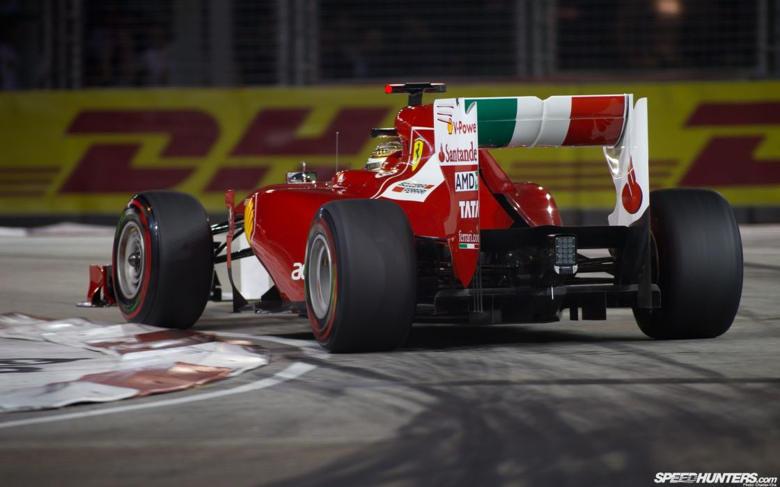 Cars Ferrari Singapore Italian Formula One Fernando Alonso